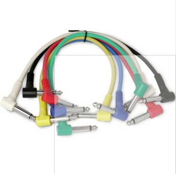 Low price 30cm Guitar Amplifier Audio Cable Guitar Effects Pedal Cable musical instruments guitar parts accessories