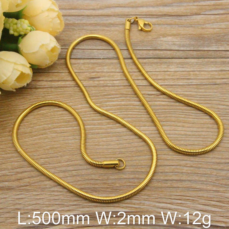 HOT Wholesale Stainless Steel Jewelry Fashion Small Chain Necklace Design Vintage Hot Selling NFHBASAI