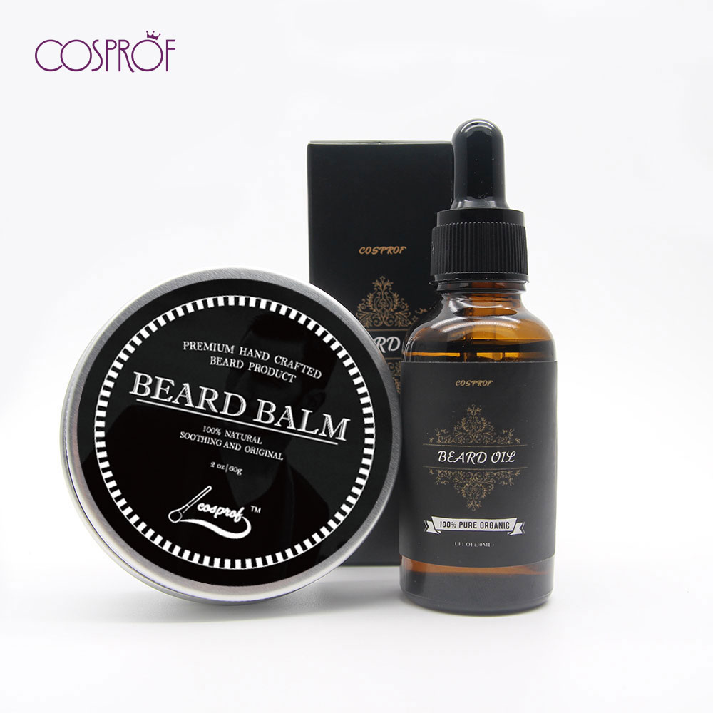 Beard Oil and Beard Conditioner With Beard Balm