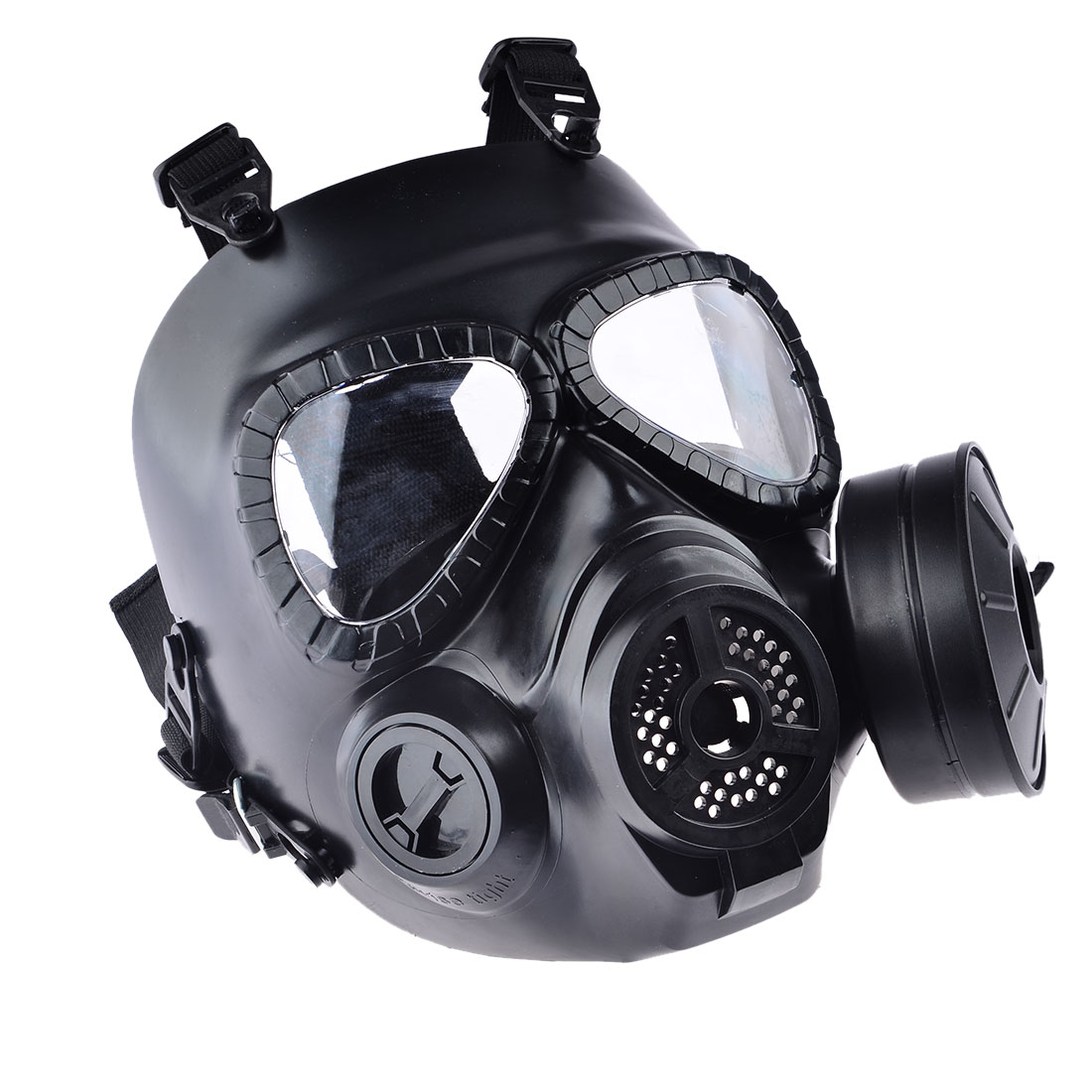 Quality In Resin Full Face Cs Airsoft Paintball Dummy Gas Mask For Cosplay Protection Halloween Evil Antivirus Skull Festival Decor Excellent