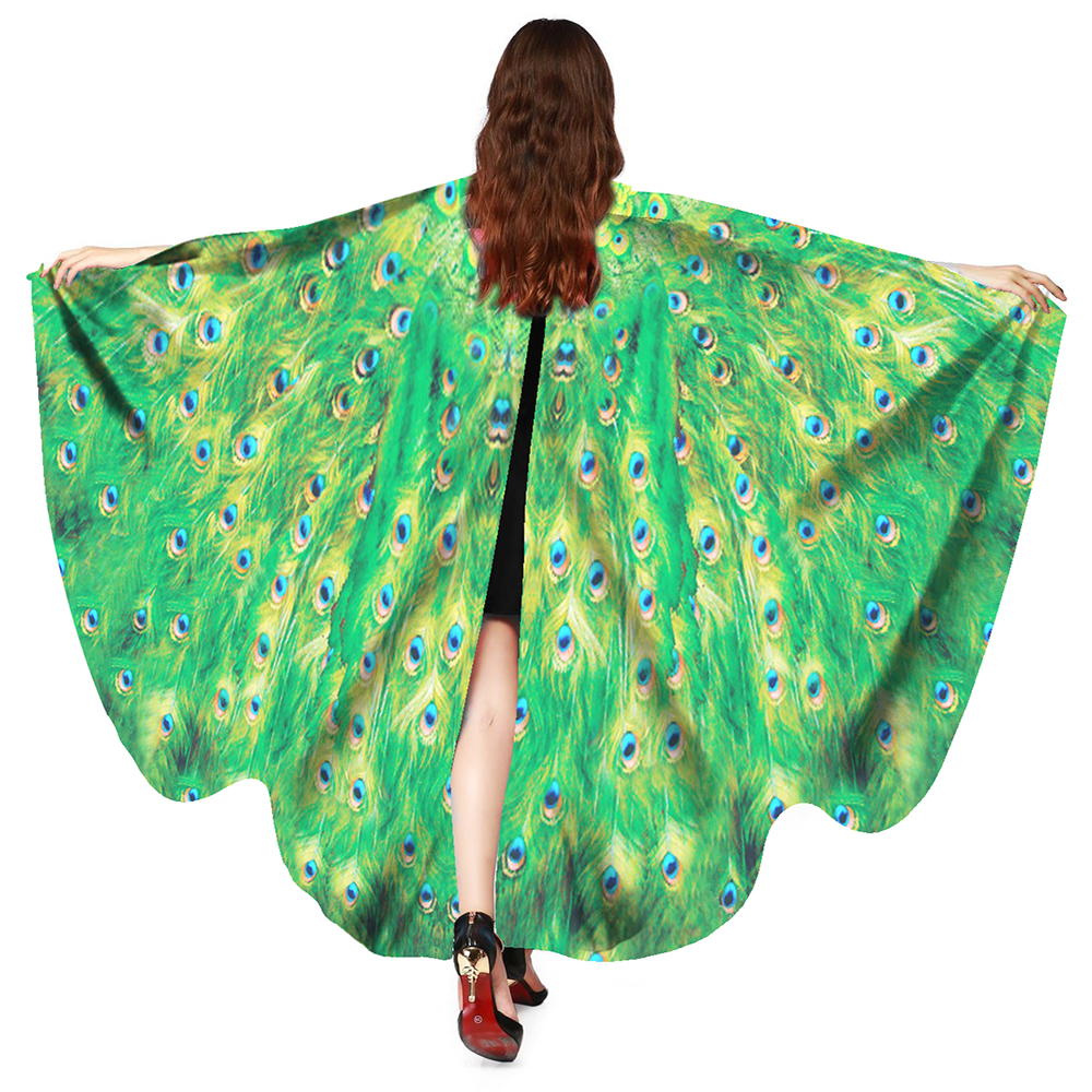 Beauty   Scarf   Women Lady Soft Butterfly Wing Cape Dress   Scarf   Long   Wrap   Shawl   Scarves     Wraps