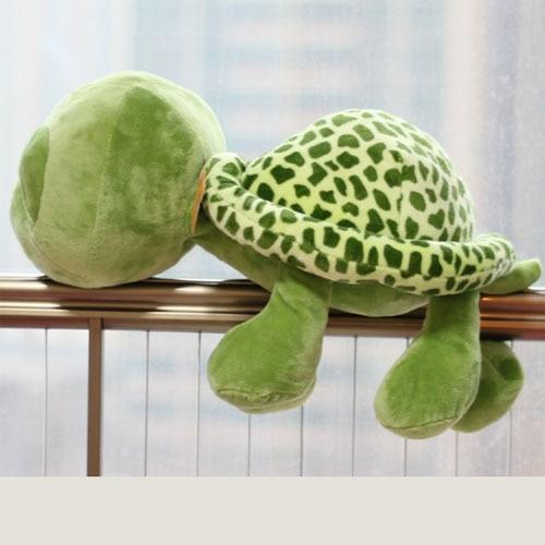 tecknad mjuk bomullsköldpadda kudde fyllda & plysch leksaker dockor för älskare barn barn vänner flickvän födelsedagspresenter