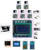 5 Axis Breakout Board Stepper Motor Driver CNC Board + LCD Display + Handle (HY JK05 K6)