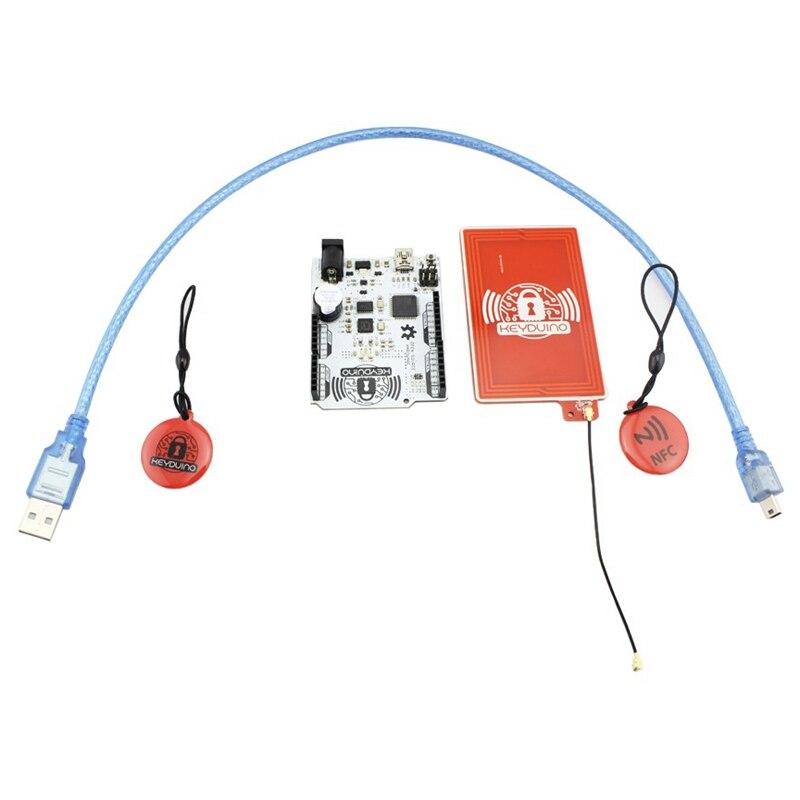 Elecrow haute qualité KeyDuino pour Arduino NFC projets carte de développement maison intelligente électronique kit de bricolage intelligent ouvert Sourse Module