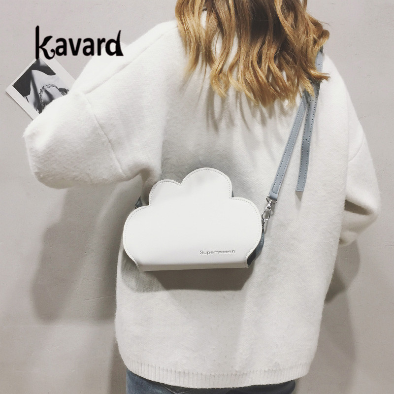 Designer Handbags High quality Shoulder Bag Girls' Cute Cartoon Little Fresh Cloud pu Leather Handbag Party Bags Dropshiping SAC 6
