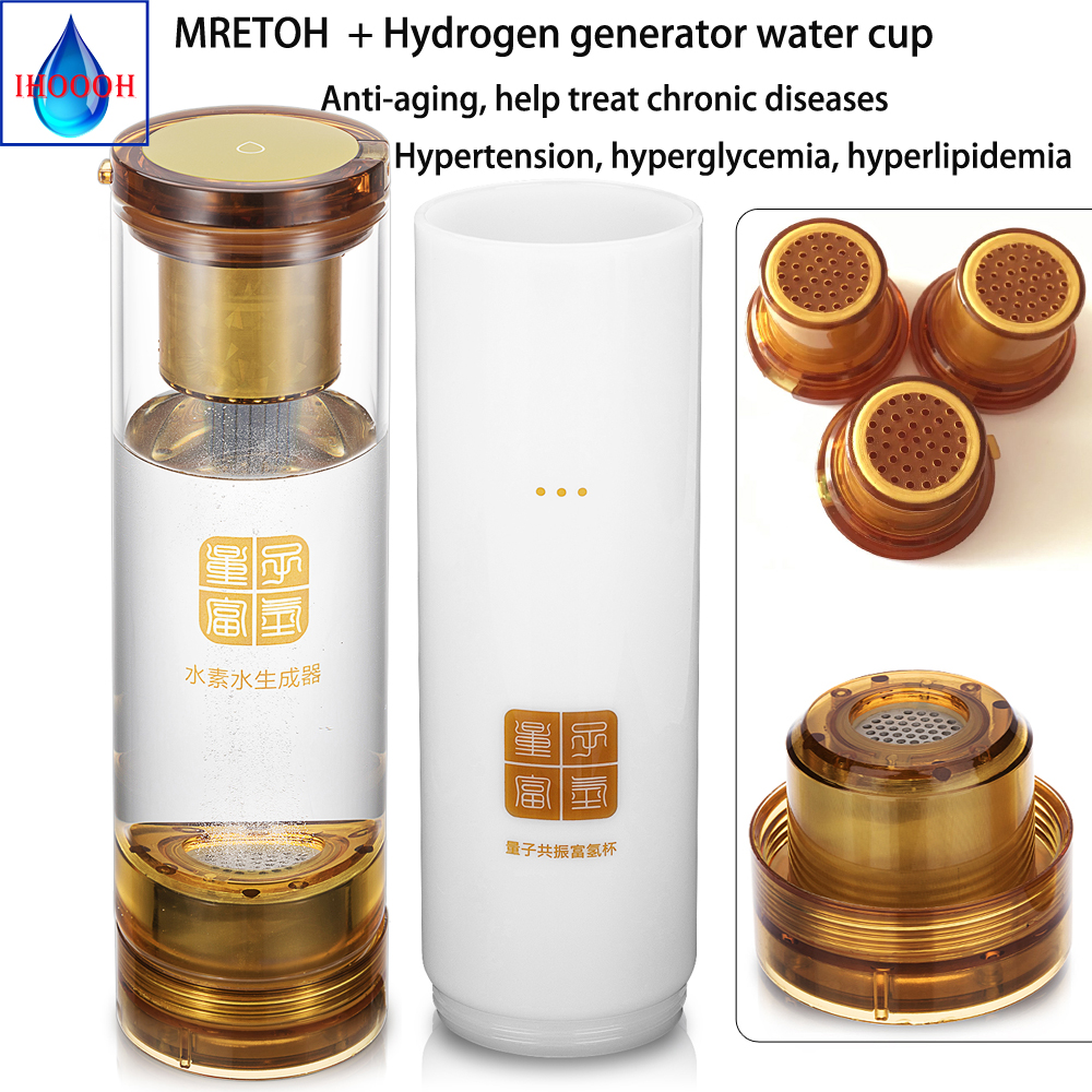 Buy Hydrogen Rich generator and MRETOH Electrolysis H2 Molecular Resonance water Postpone aging detoxify and nourishing the face for only 436.5 USD