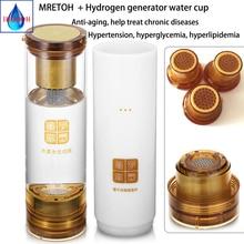Hydrogen Rich generator and MRETOH Electrolysis H2 Molecular Resonance water Postpone aging detoxify and nourishing the face
