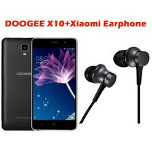 Original DOOGEE X10 Dual SIM 3G WCDMA Smartphone 5.0 inch Android 6.0 MT6570 Dual Core 8GB ROM 512MB RAM 3360mAh Battery Phone(China)