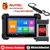 Autel MaxiCOM MK908P MS908P Automotive Diagnostic Tool OBD2 Scanner All System ECU programming J2534 Programmer PK Maxisys Elite