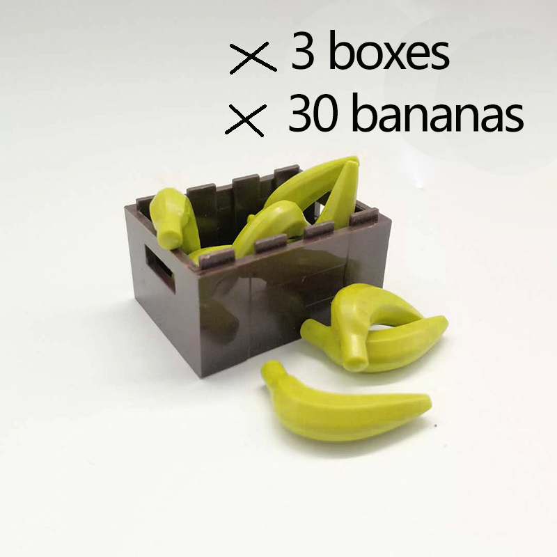 NEW LEGO Food Fruit vegetables Banana Yellow x 10 Figure Accessory