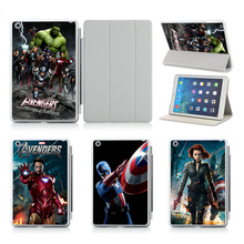 Design Customized Printed Flip Protecting Onerous Plastic  For IPad Air 2 Case Cowl! Avengers Actor SERIES