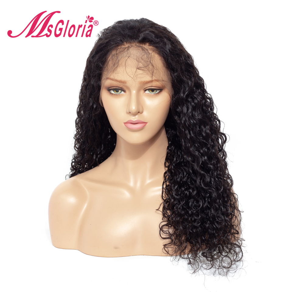 360 Lace Frontal Human Hair Wig Swiss Lace Human Hair Wig With Baby Hair Brazilian Remy