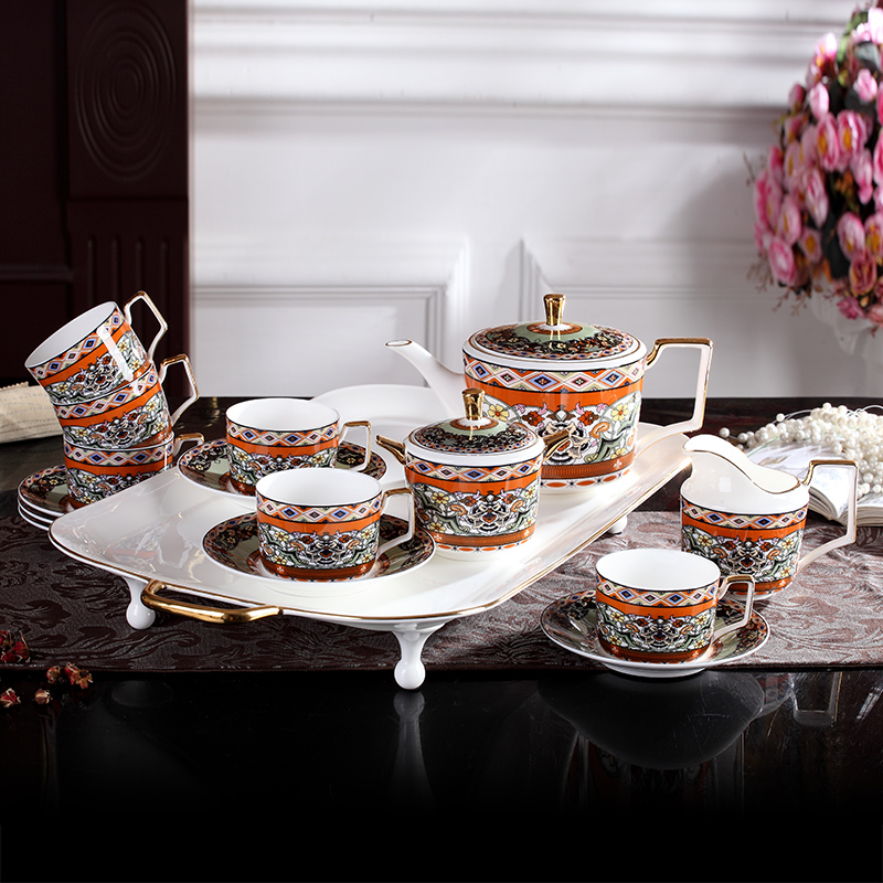 Kitchen Kettle Village Coupons: English Afternoon Tea Set Bone China Coffee Cup Set