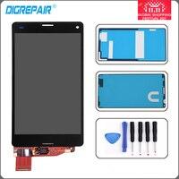 מסך מגע LCD תצוגה עם digitizer עצרת עבור Sony Xperia Z3 מיני קומפקטי D5803 D5833 LCD + כלים דבק משלוח חינם