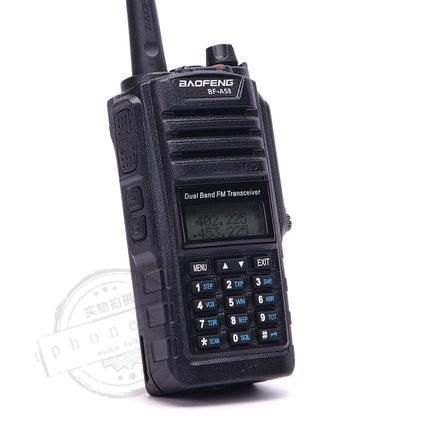Waterproof Lastest walkie talkie IP67 baofeng uv a58 Anti Dust 2 way Dual Band Radio 136