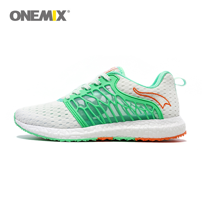 ONEMIX Unisex Running Shoes Breathable Mesh for Men Athletic Shoes Super Light Outdoor Women Sport shoes lovers walking shoes camel shoes 2016 women outdoor running shoes new design sport shoes a61397620