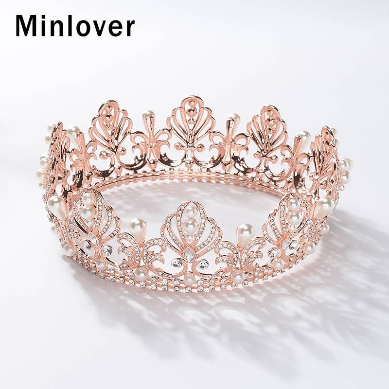 minlover gold rosegold color baroque