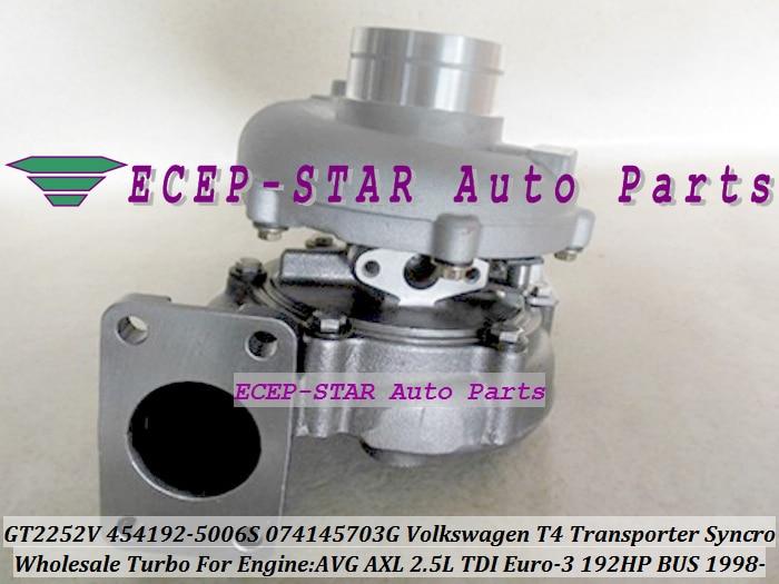 GT2252V 454192 454192 0006 454192 0005 454192 0002 074145703GX 074145703GV Turbo For VW T4 Bus font