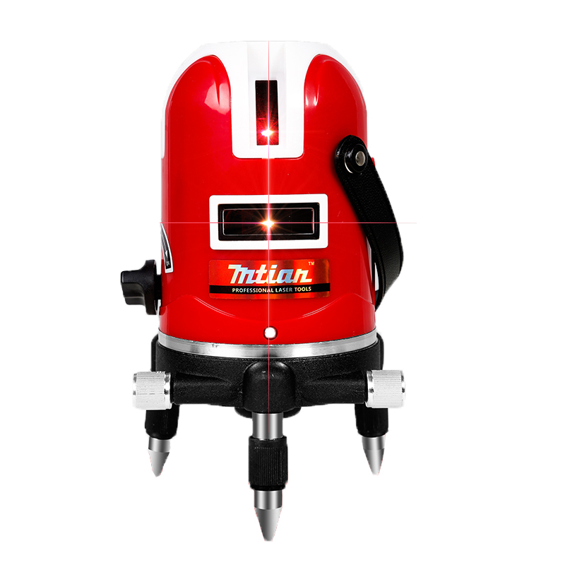 Mtian 5 lines laser level dot Tilt Function 360 rotary Self leveling model cheap low factory price