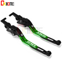 Motorcycle Adjustable Folding Extendable Brake Clutch Levers For Honda CB400 SF 1992-98 CB400 VTEC 2002-10 CBR400 NC23 NC29 NC35