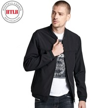 HTLB Brand New Men's Autumn Casual Bomber Ma1 Jacket Coat Men Fashion Elastic Pilot Bomber Outwear Jacket Coats Male Plus Size(China)