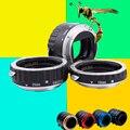 Металл Маунт Автофокус AF Макрос Удлинитель Кольцо для Canon EOS EF-S Объектив 5D3 650D 550D 1100D 1000D 600D T5i-T2i Lens Adapter