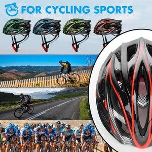 Image 5 - QUESHARK Professional uomo donna prese daria casco da ciclismo ultraleggero equitazione Mountain Road Bike casco per la sicurezza della testa