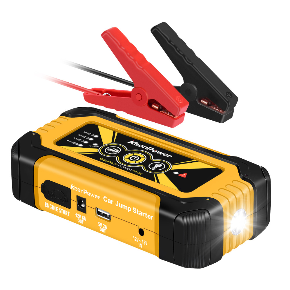 Portable Mobile Emergency Car Jump Starter 18000mAh 900A Power Bank Charger For Car Battery 12V Petrol Diesel Auto цена