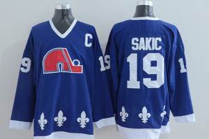 Sundin Throwback Ice Hockey Jersey Double Stitched Name   Number Mens  Quebec Nordiques c73fbe41f