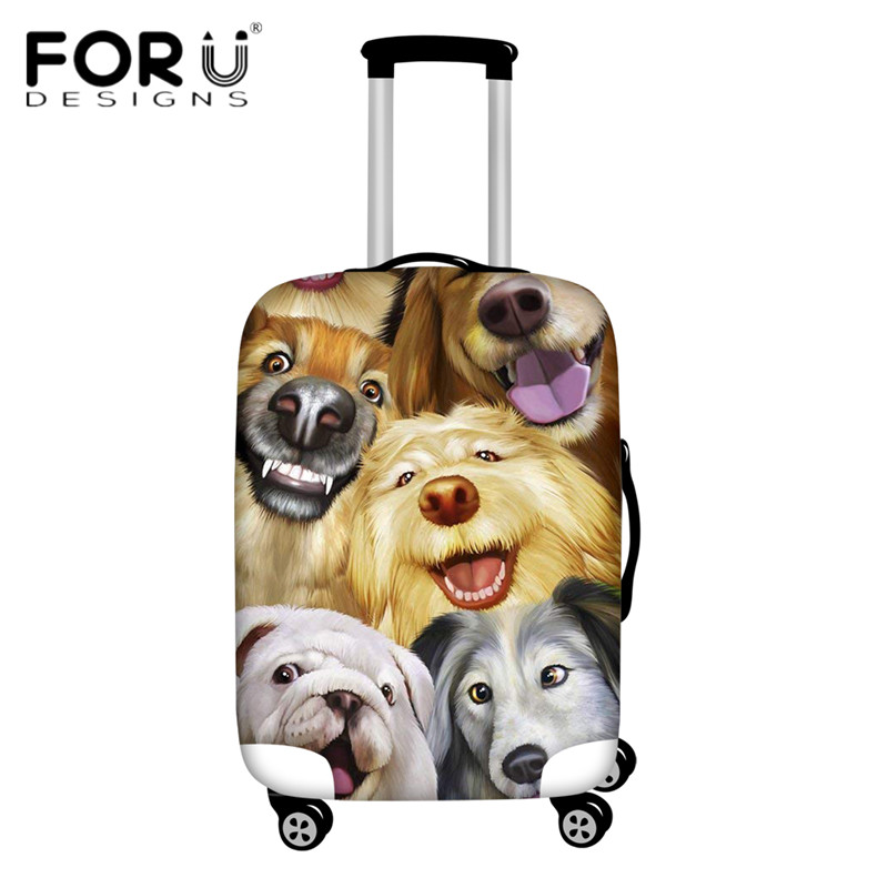 Luggage & Bags Coloranimal 3d Ball Print Suitcase Case Cover Waterproof Travel On Road Luggage Cover 18-30inch Welsh Corgi Protectiver Cover Discounts Sale