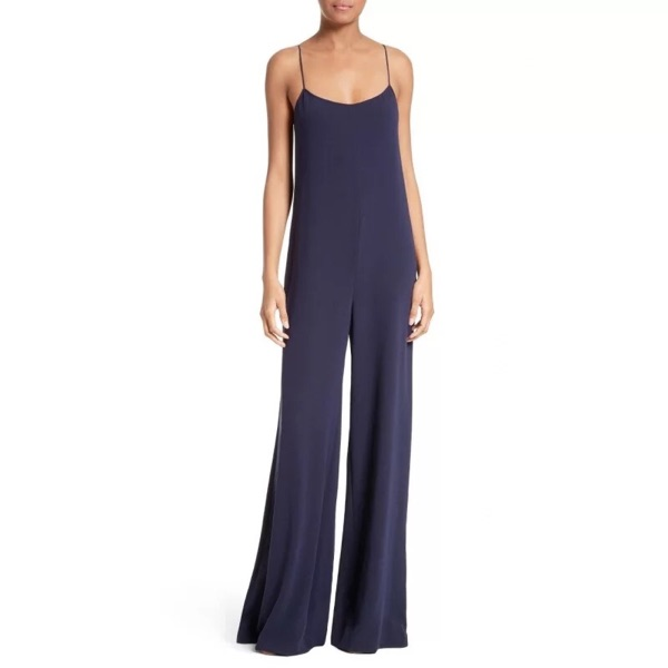 Women Jumpsuits Sexy V Neck Sleeveless Sling Rompers Womens Jumpsuit Ladies Solid Loose Long Jumpsuit All Match Woman Overalls