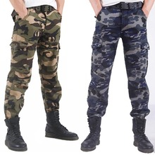 Fashion Camouflage Printed Military Cargo Pants Men Loose Baggy Tactical Trousers Casual Cotton men Multi Pockets military  jogg