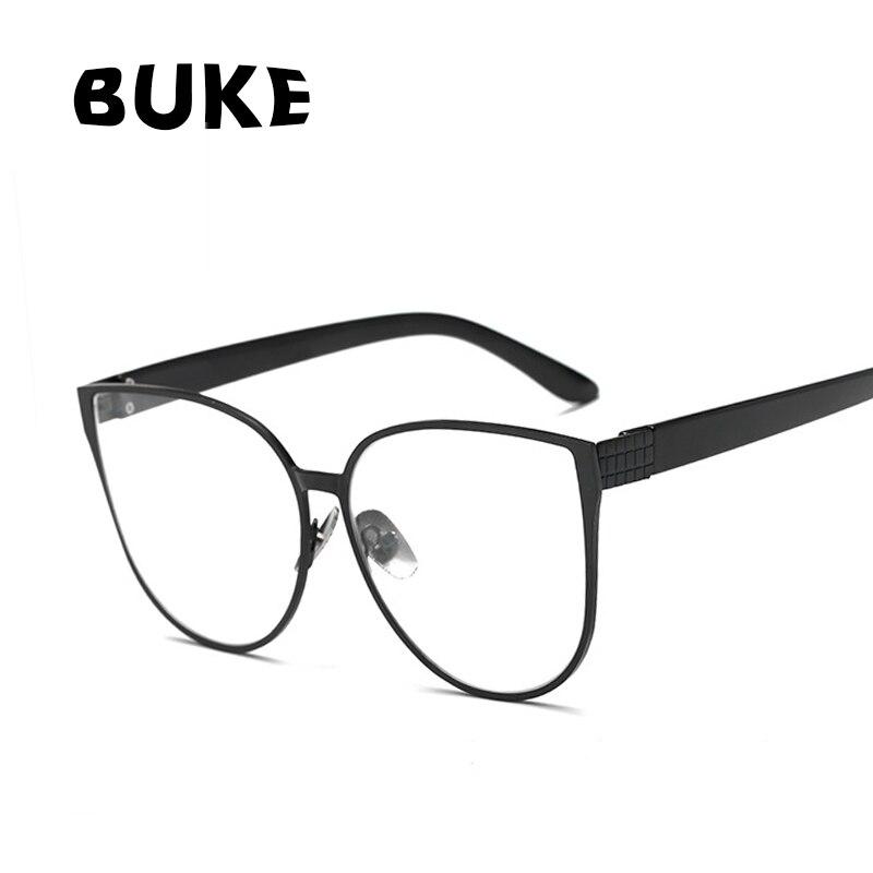 BUKE Cat Eye Brillen Frames Männer Klare Linse Gläser Rahmen ...