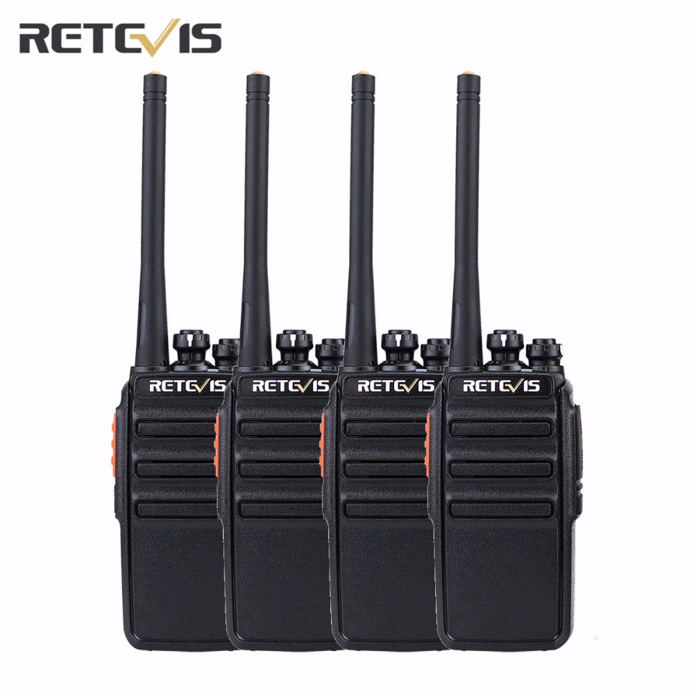 2 Pair Retevis RT24 PMR446 License-Free Walkie Talkie 16CH 0.5W 1100mAh Amateur Radio VOX Scan Two Way Radio A9123