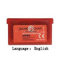 32 Bit Handheld Console Video Game Cartridge Card Jackie Chan Adventures English Language EU Version