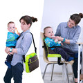 Ucanaan New high-quality Portable Mummy shoulder bag portable chair Storage box Messenger mother baby travel bags Mummy bag
