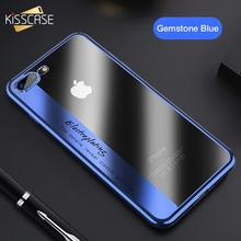KISSCASE Soft TPU Plating Phone Case For iPhone X 10 Luxury Silicone Case For iPhone 7 8 6 6S Plus X Transparent Covers Capinhas