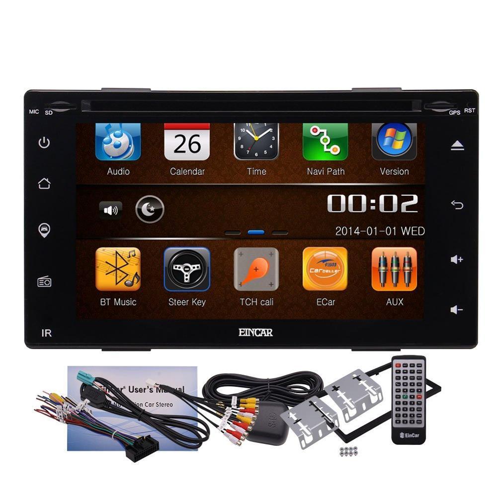 Car Electronics 6.2 Completa Pantalla Táctil de Coches Reproductor de DVD Multim