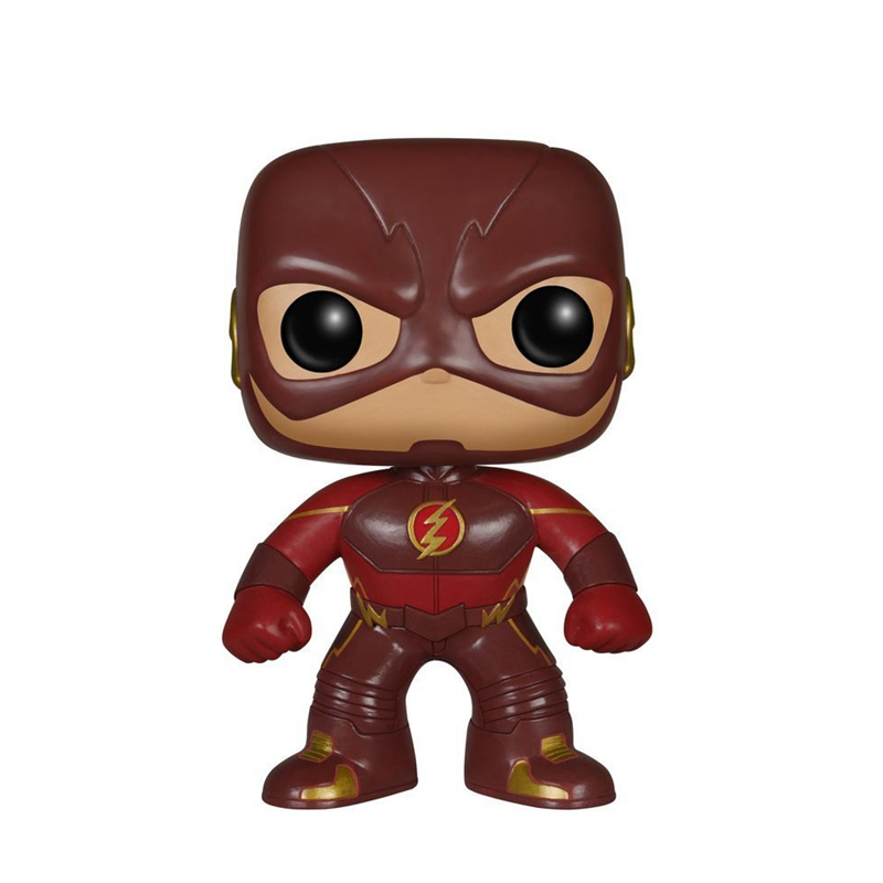 10cm The Flash light Barry Allen POP Action Figures Doll Toy
