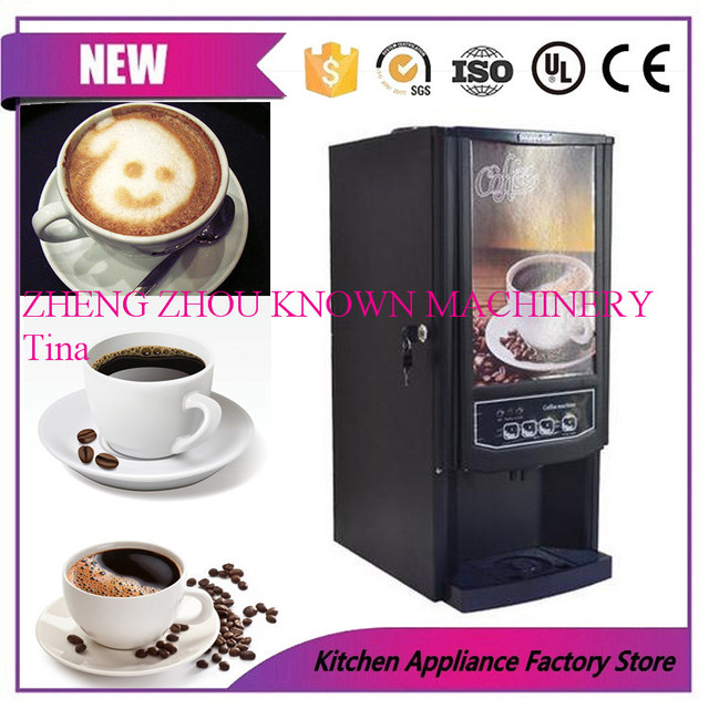 3 Diffe Drinks Mini Instant Automatic Coffee Maker Commercial Beverage Vending Machine Fruit Juice Tea Milk