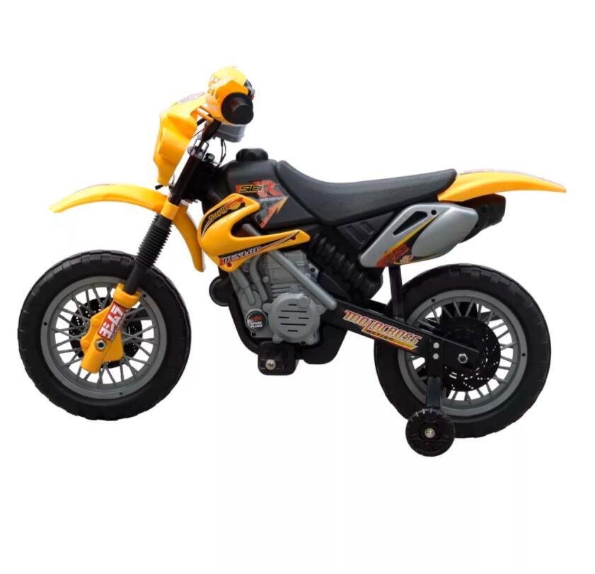 Moto éLectrique Pour Enfants Jaune monter sur les voitures Enfants Moto éLectrique Enfants apprentissage éducation Mini vélo cadeaux Pour Enfants - 2