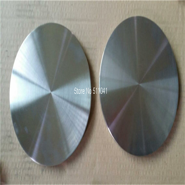 Titanium цели, сплава ti-al мишенью для вакуум PVD, 173 мм D X 13 мм L, покрытие из розо ...
