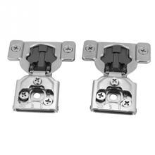 цены на Steel Door Hinges Damper Hydraulic Hinge Soft Buffer Close for Cabinet Cupboard deurscharnier Furniture Hardware Accessories  в интернет-магазинах