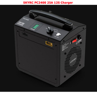 NEW SKYRC PC2400 Dual 12S Lipo Charger 2400W/25A dual channel uav lithium battery charger PC2400