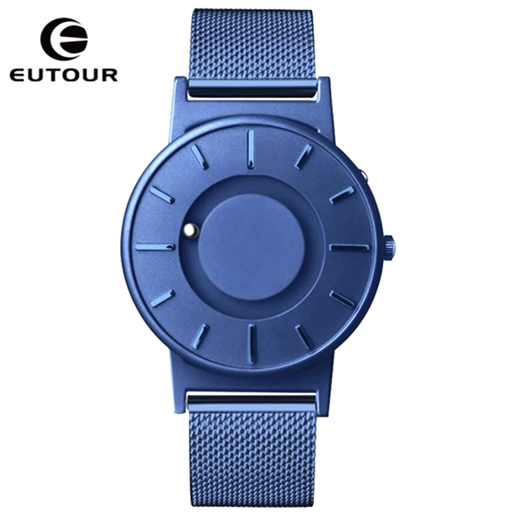 EUTOUR Magnetic Watch Ball Show Men Waterproof Luxury Mens Wristwatches Sport Stainless Steel Dropshipping Quartz Wrist WatchEUTOUR Magnetic Watch Ball Show Men Waterproof Luxury Mens Wristwatches Sport Stainless Steel Dropshipping Quartz Wrist Watch