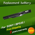 JIGU 14.8V 2200mah Laptop Battery For Sony VAIO Fit 14E Series For SONY VAIO Fit 15E Series VGP-BPS35 VGP-BPS35A Free Shipping