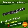 Jigu 14.8 v 2200 mah da bateria do portátil para sony vaio fit 14e para a série sony vaio fit 15e series vgp-bps35 vgp-bps35a frete grátis
