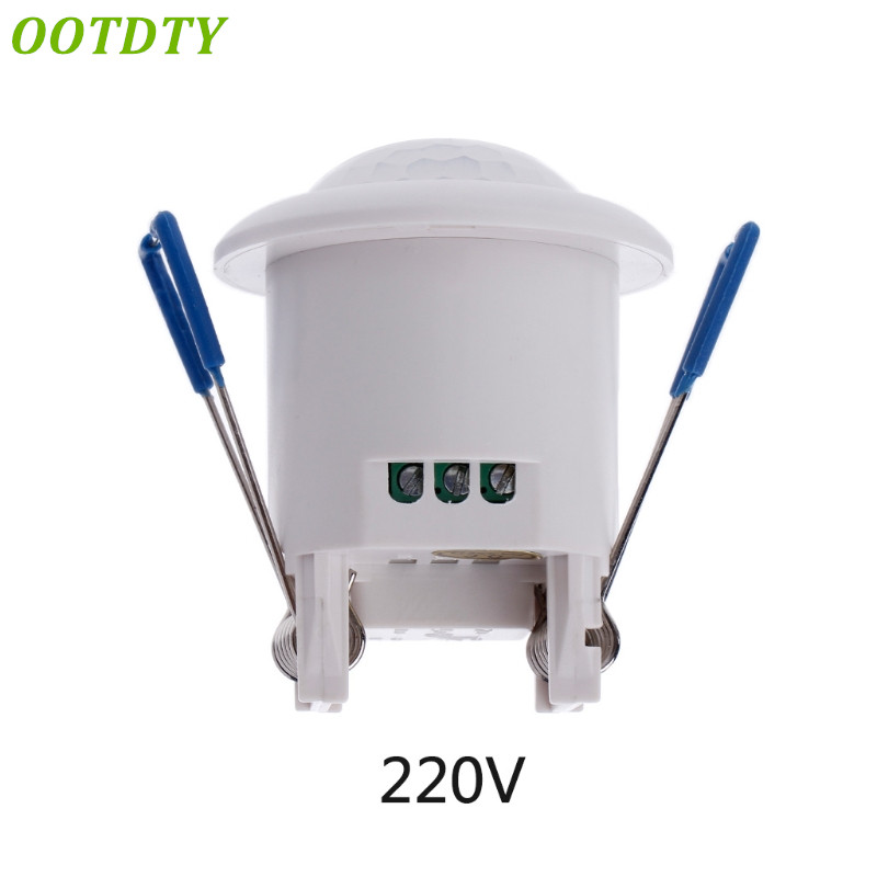 OOTDTY 220-240V 360 degree Security PIR Infrared Motion Movement Sensor Detector Switch Ceiling MountedOOTDTY 220-240V 360 degree Security PIR Infrared Motion Movement Sensor Detector Switch Ceiling Mounted