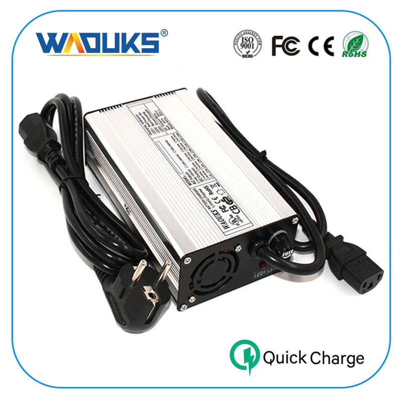 WAOUKS 58 8V 4A Li ion Battery Charger For 14S 51 8V Input 100VAC 240VAC lithium