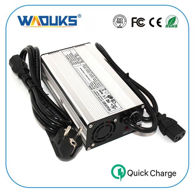 WAOUKS 58.8 V 4A Li-Ion Batterij Oplader Voor 14 S 51.8 V Input 100VAC-240VAC lithium ion batterij Elektrische Fiets Lading